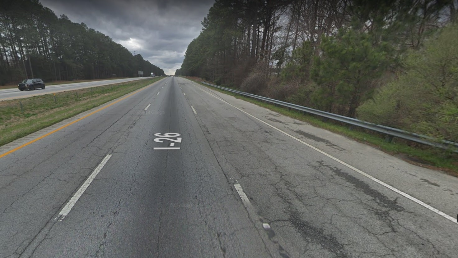 I-26 in South Carolina