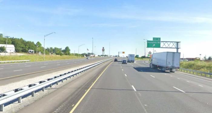 I-65 near Memphis, Indiana