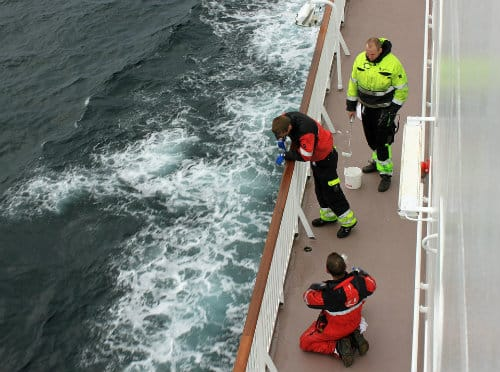 Offshore Workers At Sea