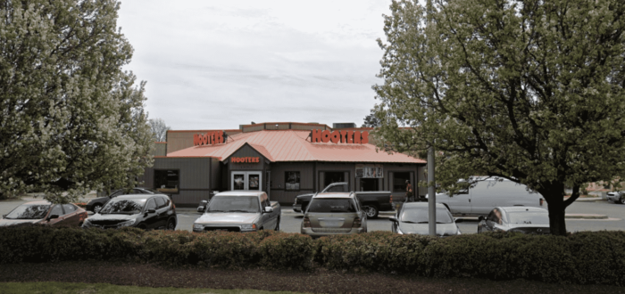 Hooters Restaurant in Hampton, Virginia